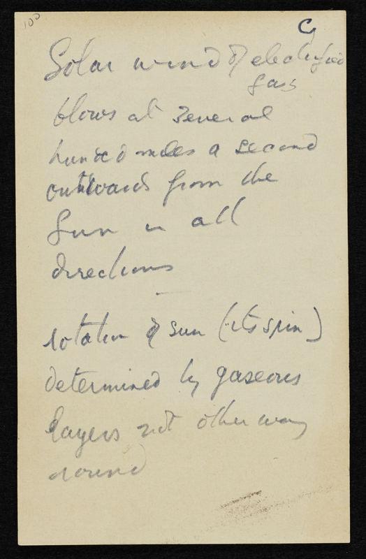 Man, manuscript draft (part of)